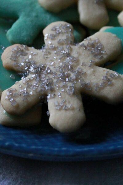 Frozen Inspired Christmas Cookies