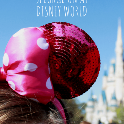 Top 10 things to Splurge on at Disney