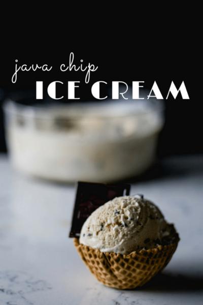 Java Chip Ice Cream