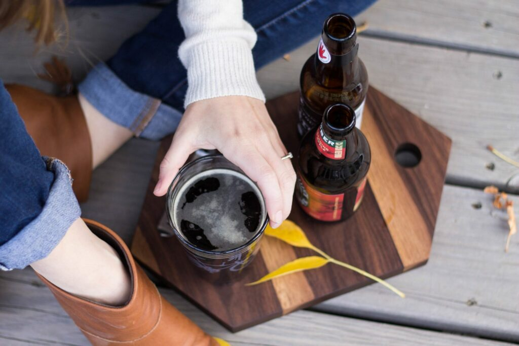 Snakebite Beer Cocktail -11