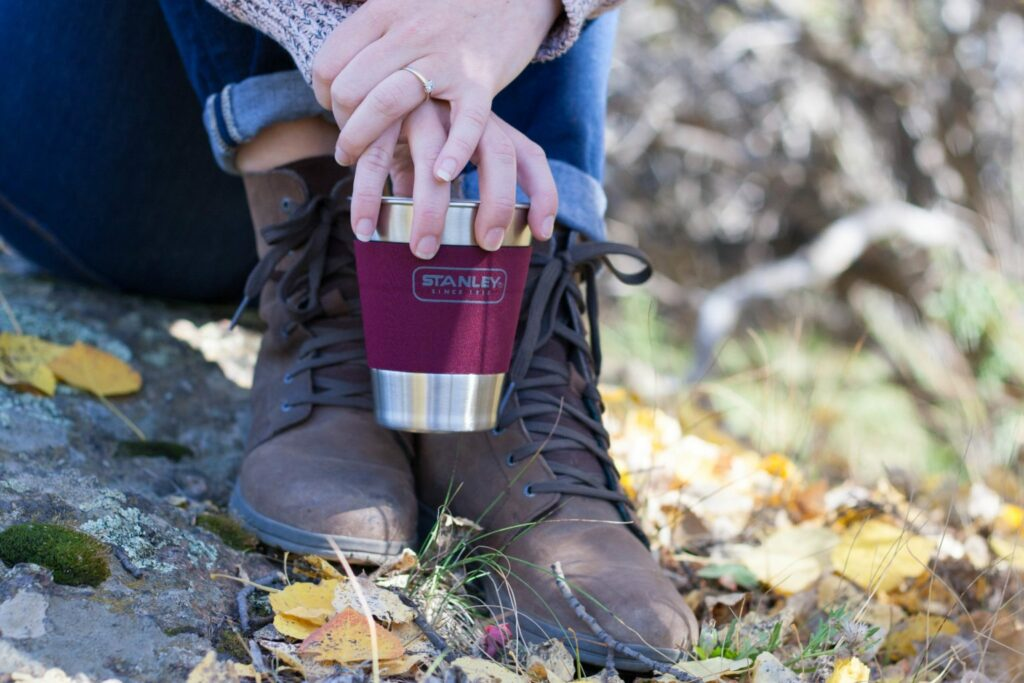 Fill up your Stanley Brand Growler with your favorite local craft beer and get into the mountains - I love Colorado in the fall!