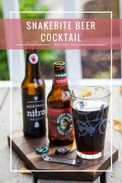 Snakebite Beer Cocktial