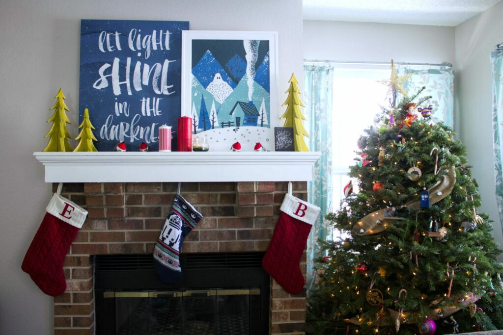 DIY Stocking for Him! Fill your man's stocking with the perfect goods for the outdoorsy man!
