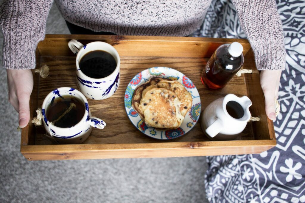 Breakfast in Bed with Huckberry - what a great idea for Valentine's day this year!!