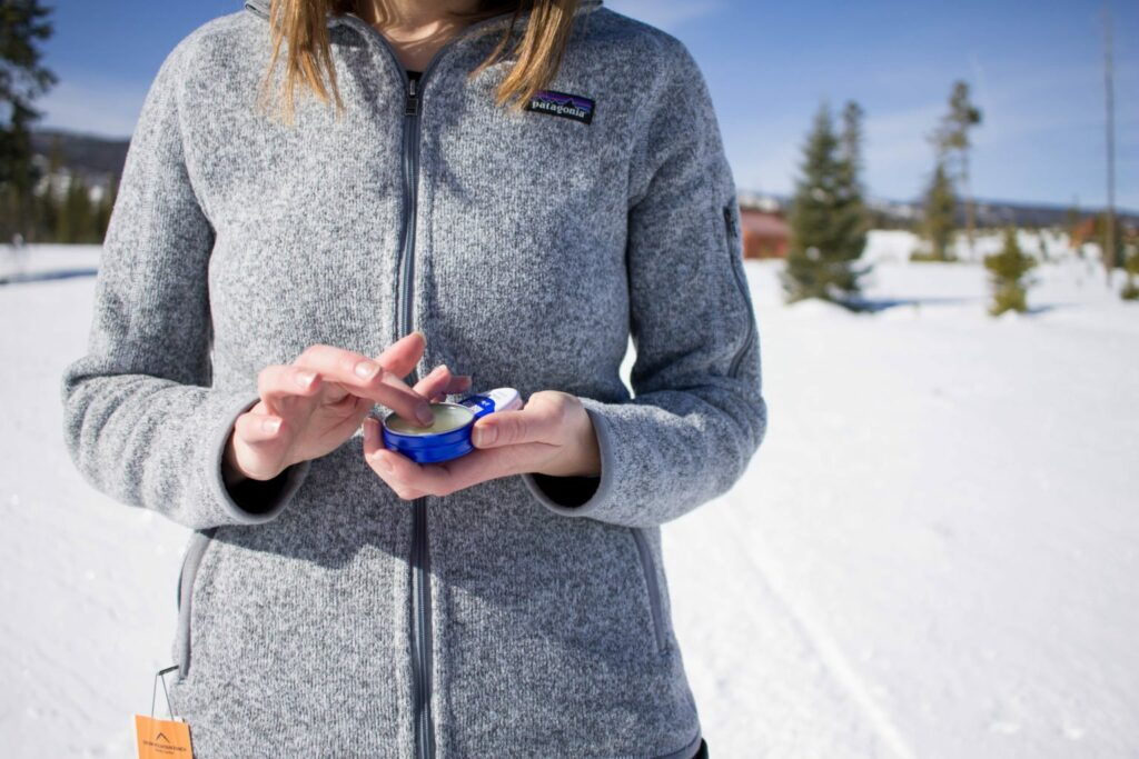 Kissable Winter Lips for your Mountain Adventures