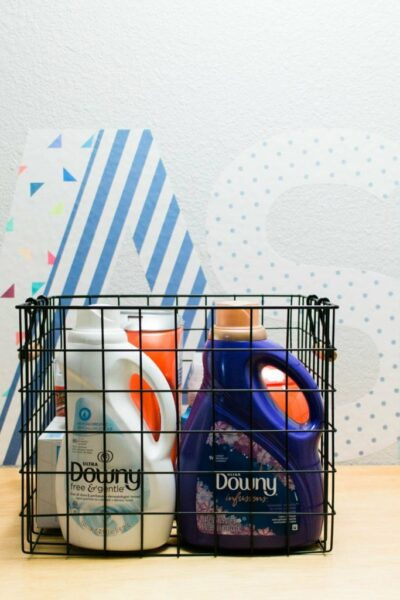 Our Tiny Laundry Room Reveal