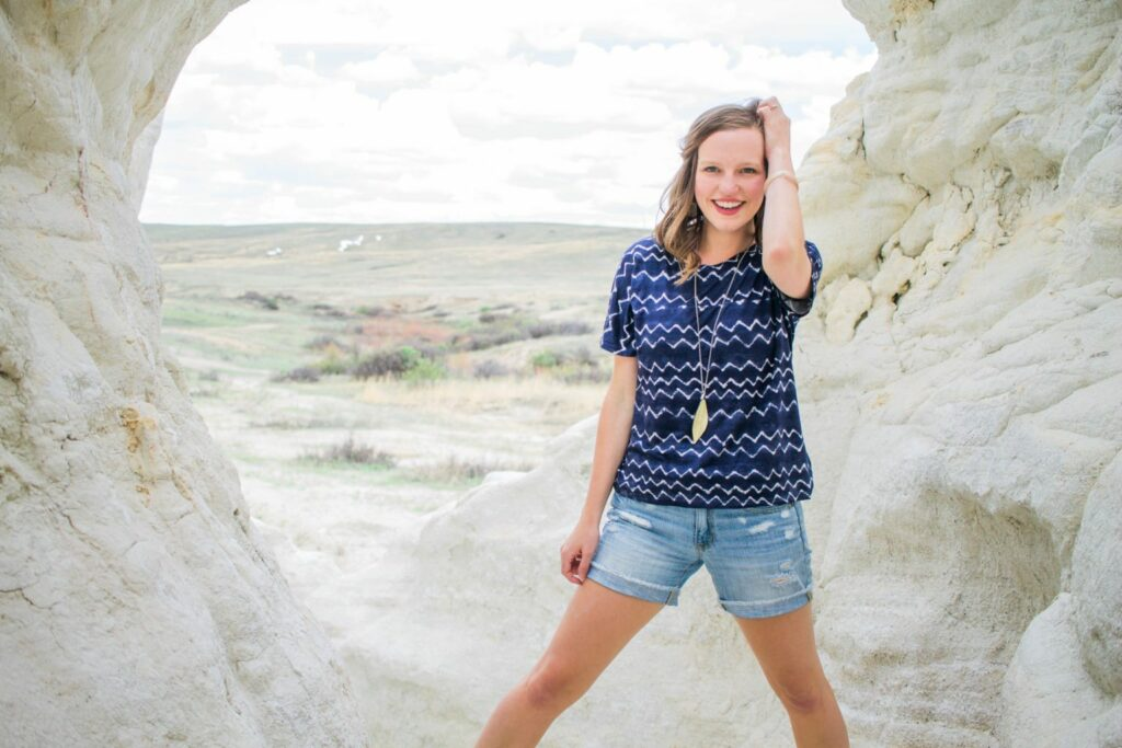 Photo shoot at Paint Mines Colorado for my twenty eighth birthday!