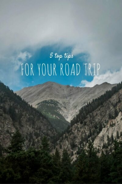 5 Tips for your Road Trip