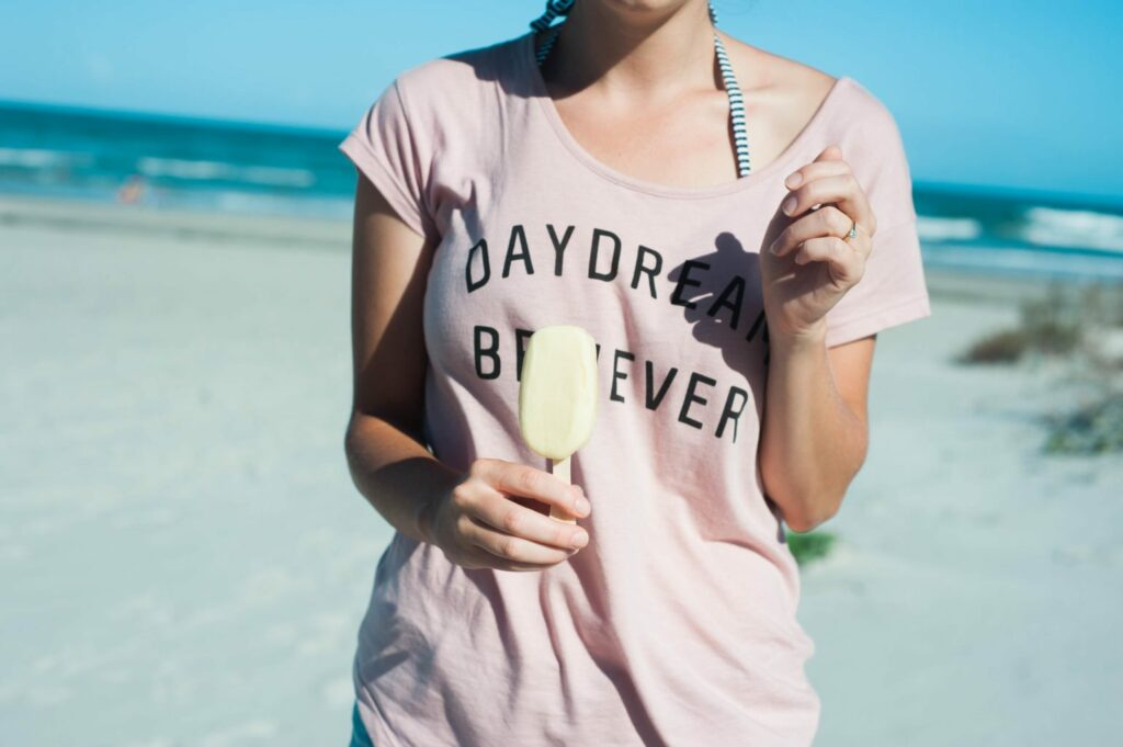 Florida Beaches - styling cool with Outshine Fruit & Yogurt Bars!