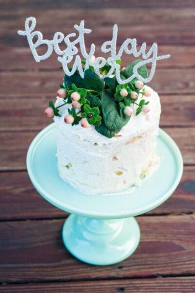 Sarah's Bridal Shower Cake