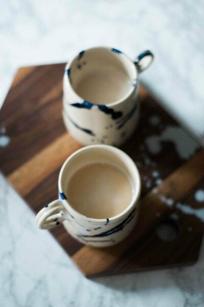 Homemade Coffee Cake Lattes