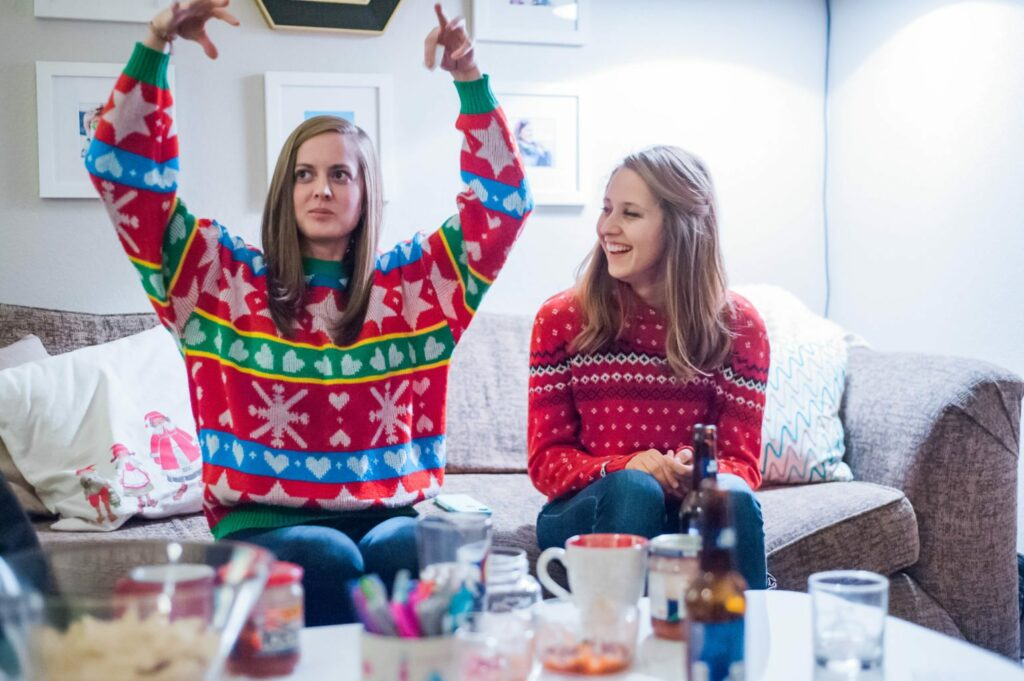 How to Throw a Festive Sweater Party - with Frito Lay #ad