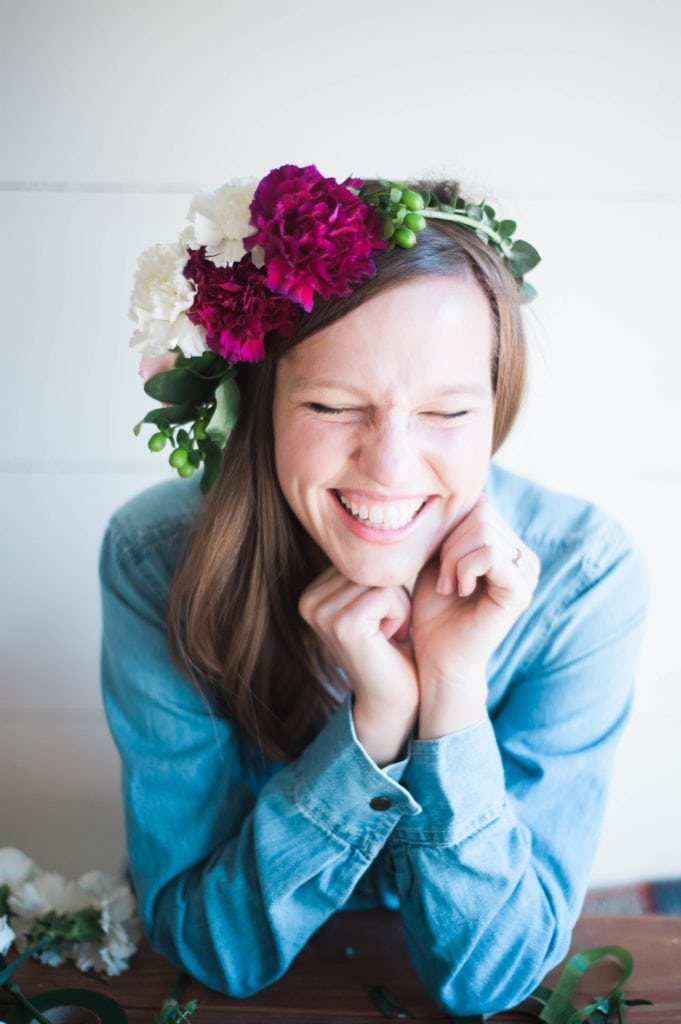 Floral Crown Valentine's Day Party! Perfect to celebrate Valentine's Day or Galentine's Day!