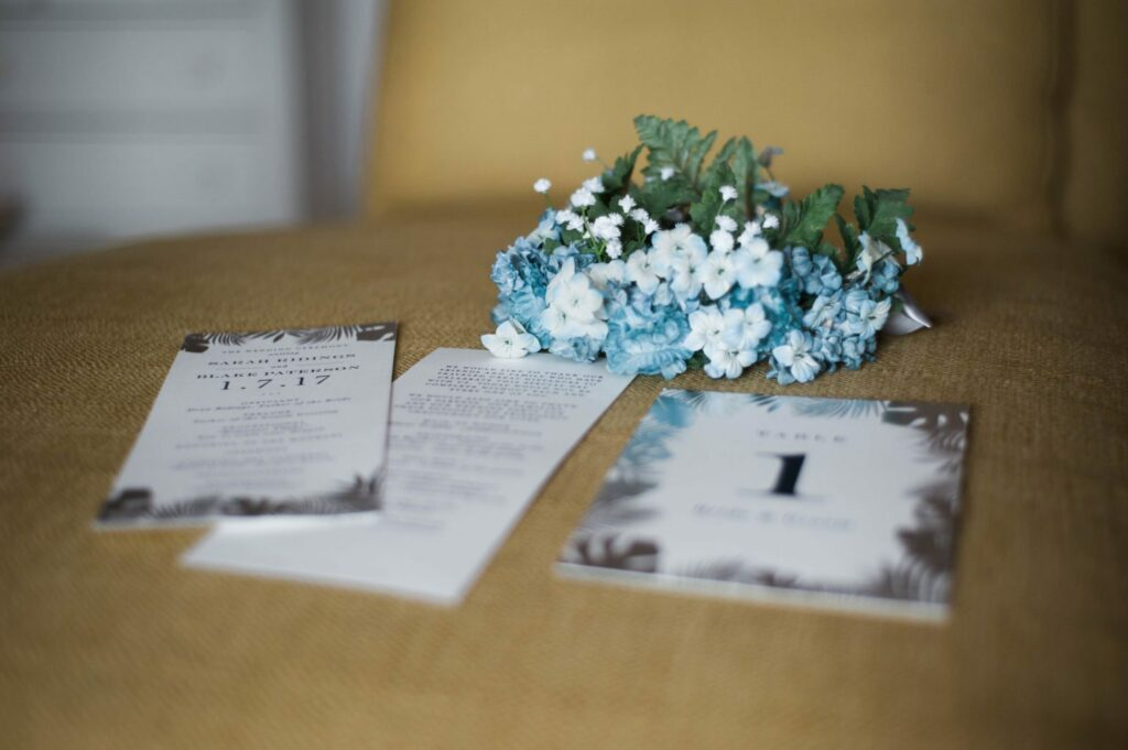 Day of Wedding Details with Minted #mintedwedding