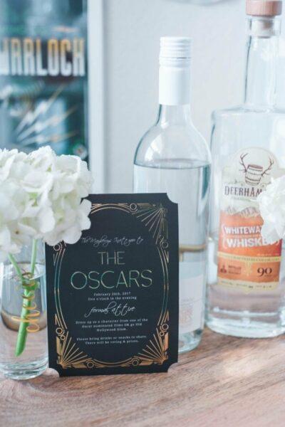 How to Host an Oscars Party