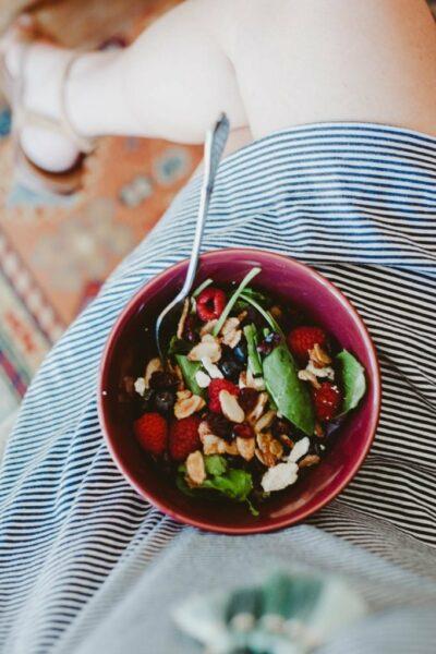Conversations & Fresh Spring Salads