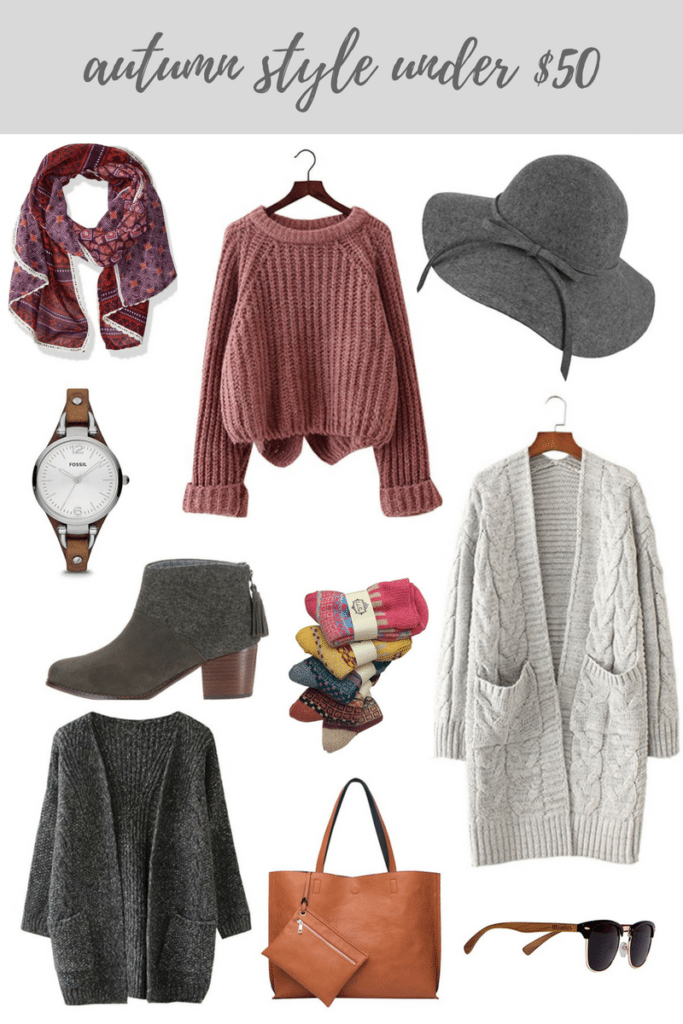 Autumn Style Under $50