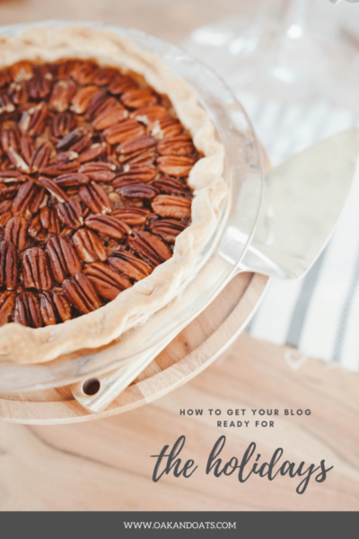 Getting your Blog Ready for the Holiday Season
