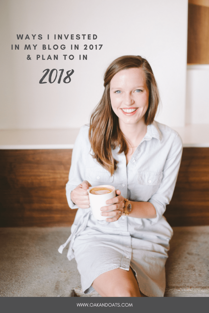 Ways I invested in my blog in 2017 and plan on in 2018