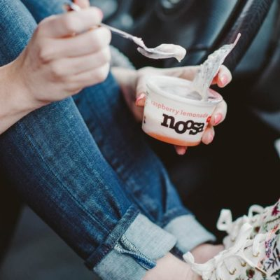 Snacking in Cars with Girls