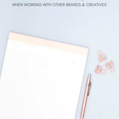 Collaboration Etiquette When Reaching out to Other Brands & Creatives