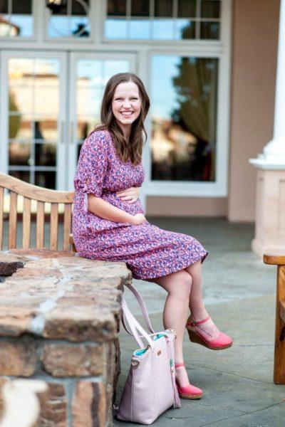 Maternity Easter Dress