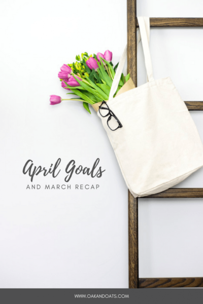 April Goals || Powersheets Check-In