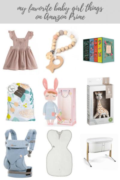 Baby Girl Things on Amazon Prime