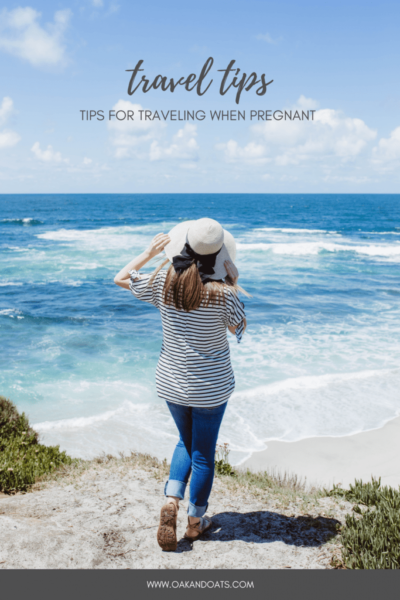 Tips for Traveling When Pregnant