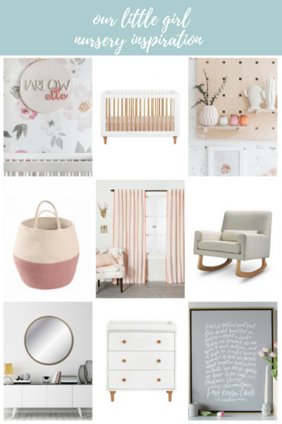 Our Baby Girl Nursery Inspiration