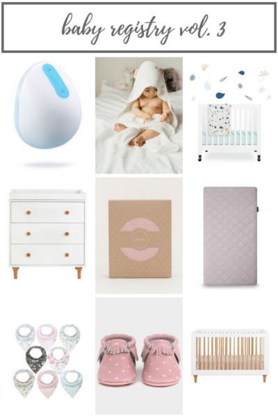 Baby Registry Items Vol. 3