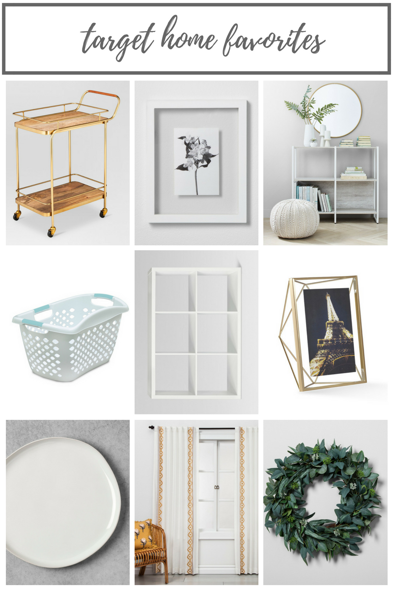 My favorite Target Items for the Home