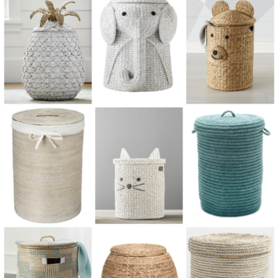 Adorable Hampers for the Nursery