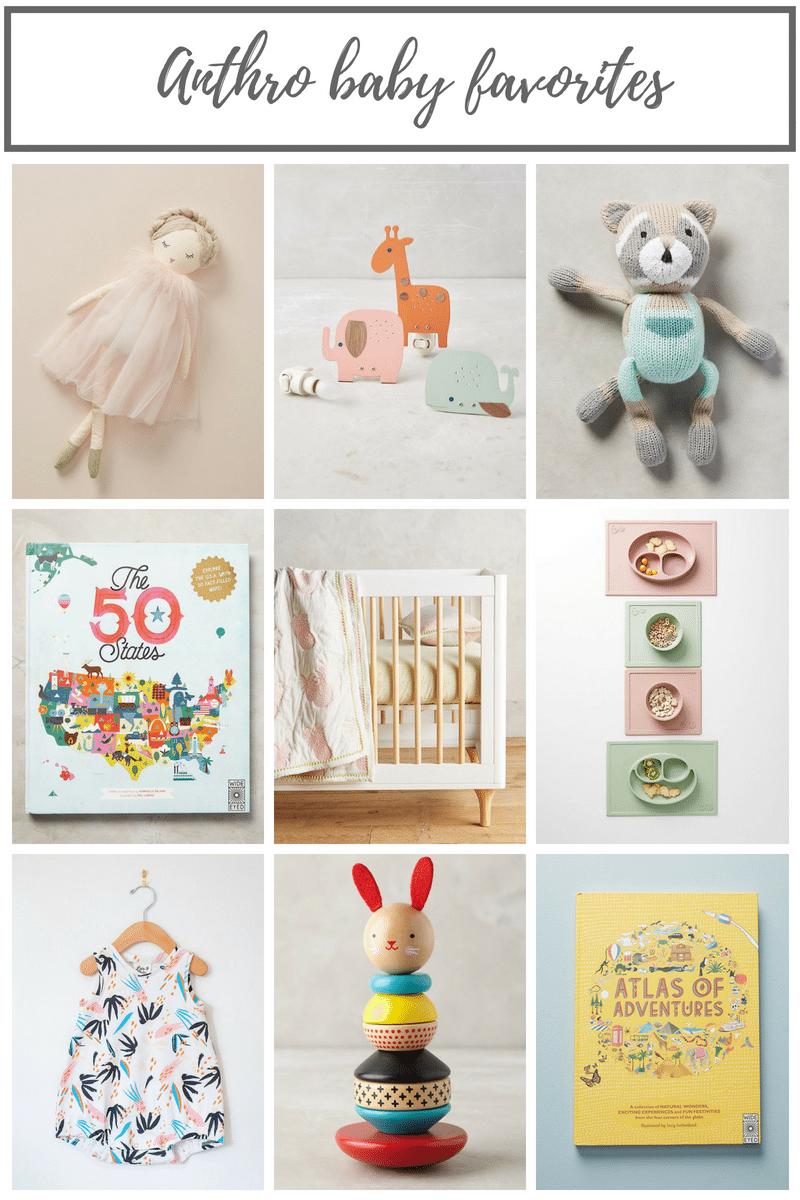 Anthropologie Baby Favorites | Oak + Oats