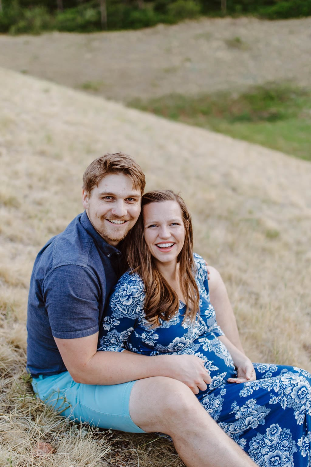 Maternity Photos with Husband