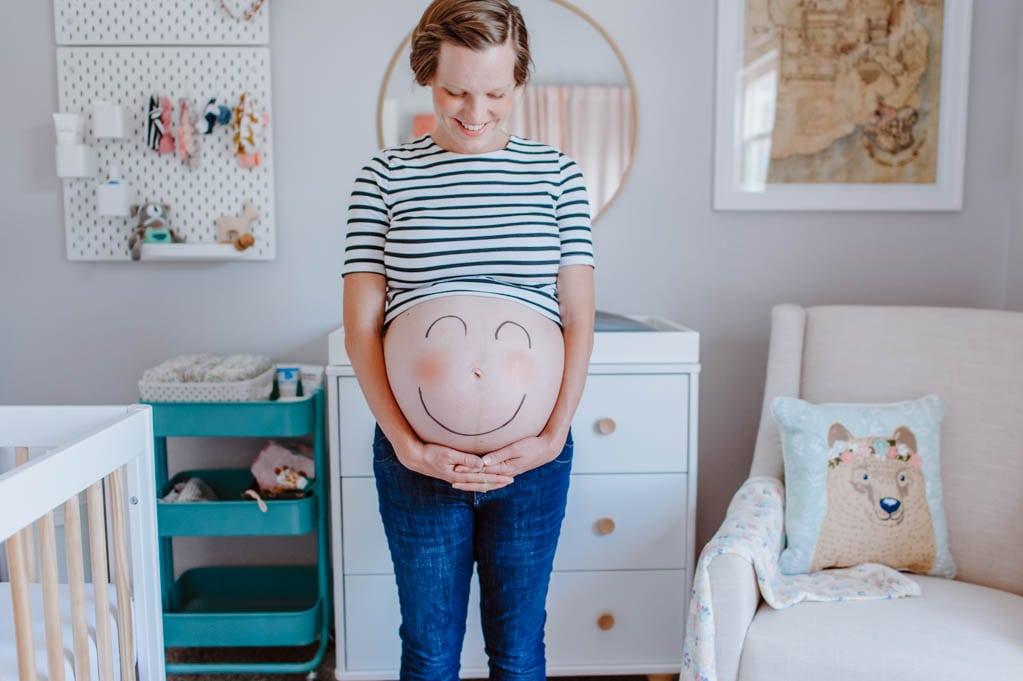 Happy due date | Oak + Oats