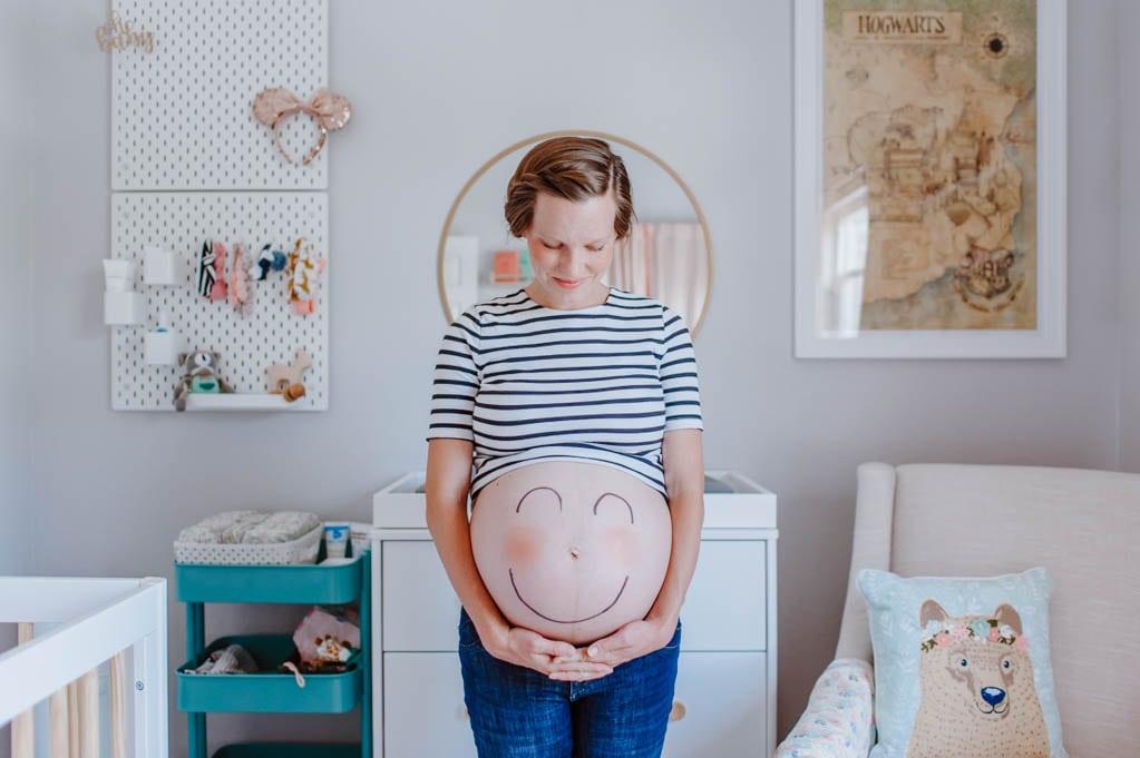 Happy due date little girl | Oak + Oats