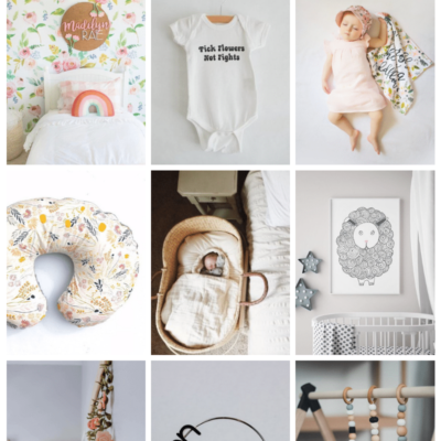 Etsy Items on my Baby Registry