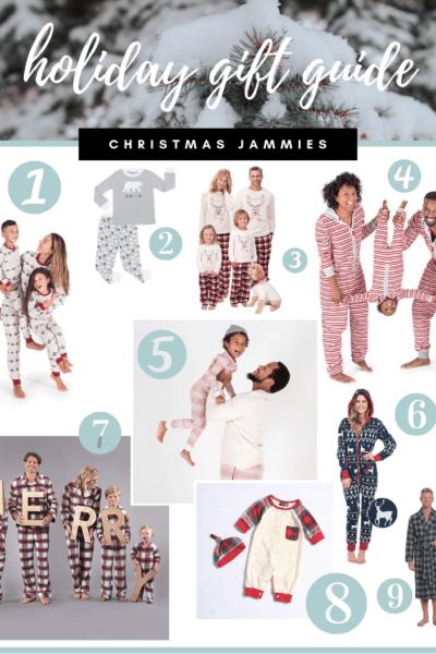 Christmas Jammies - Holiday Gift Guide - Oak + Oats 1b34d9ea7