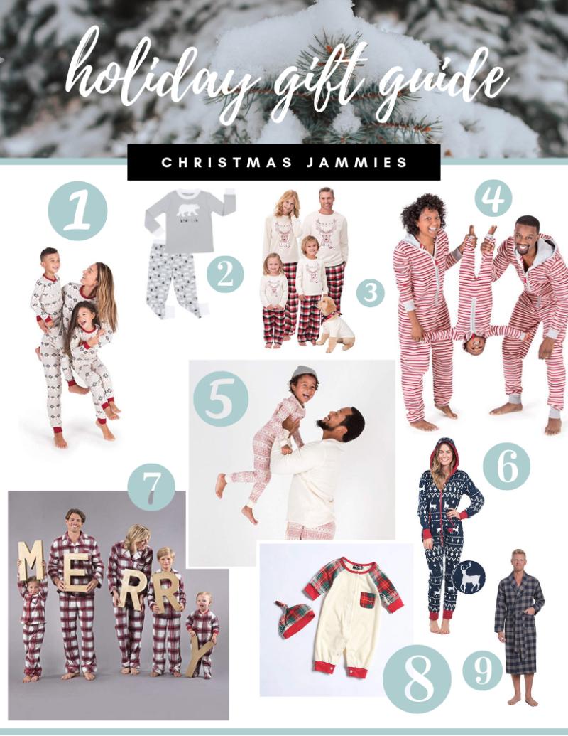 Holiday Gift Guide Christmas Jammies