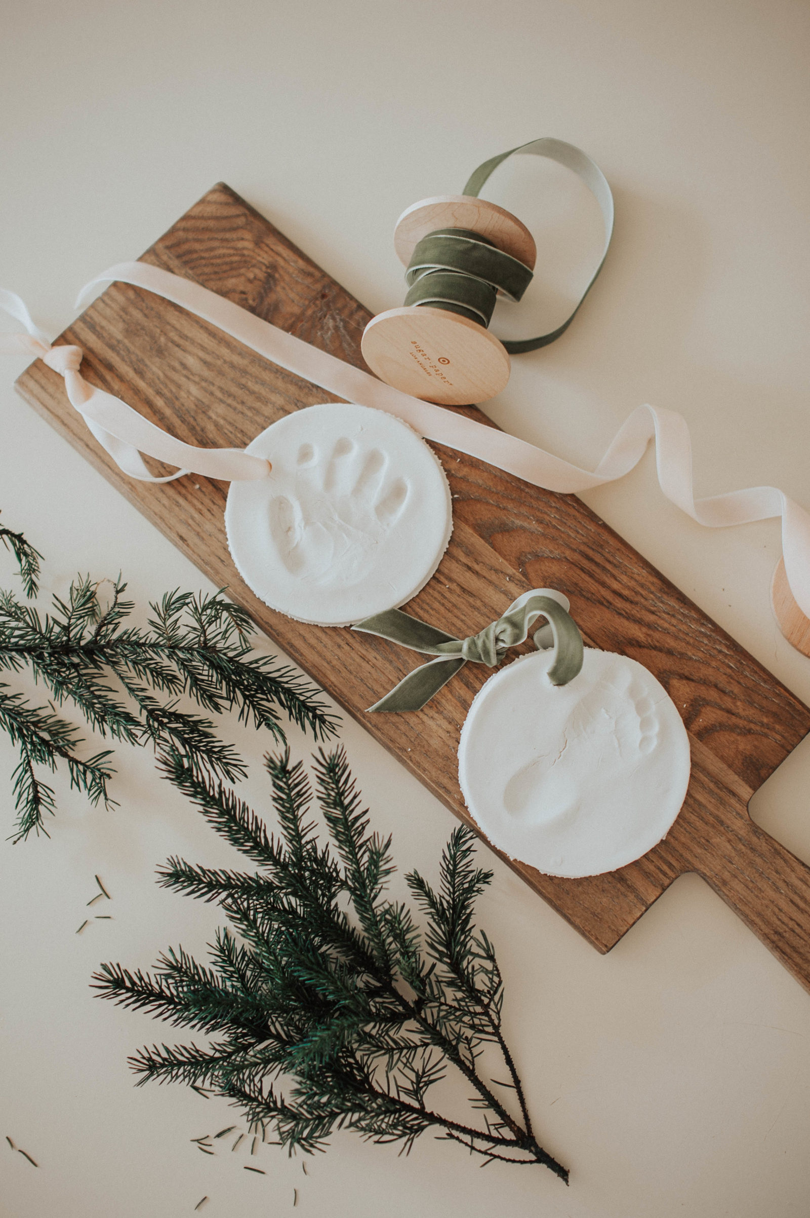 Homemade Clay Ornaments - Oak + Oats