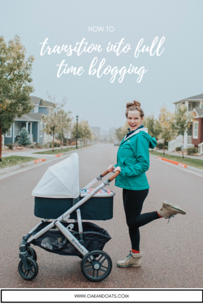 Tips for Transitioning into Full Time Blogging