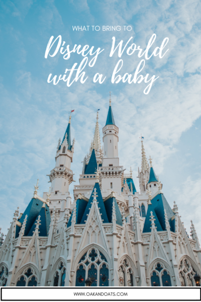 What to Bring to Disney with a Baby