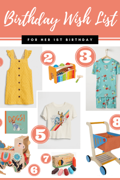 Her 1st Birthday Wish List