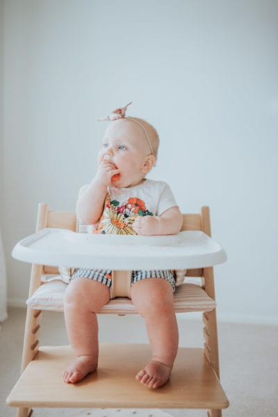 """Starting Solids: Our Journey to """"Real"""" Food"""