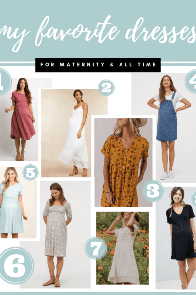 My Favorite Dresses: Maternity + All Time