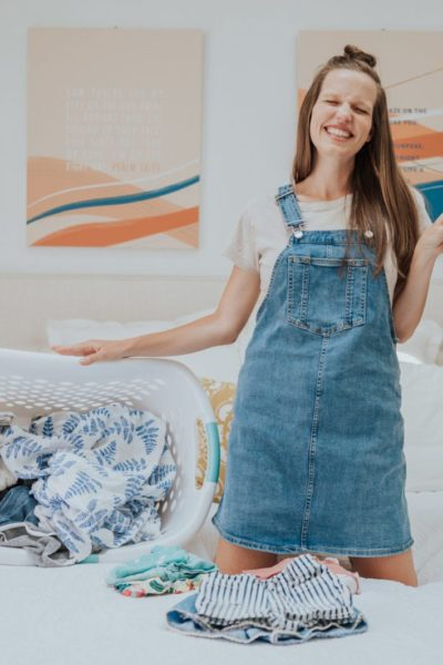 Sorting Baby Clothes: Keep Out, Pack Up, & Sell