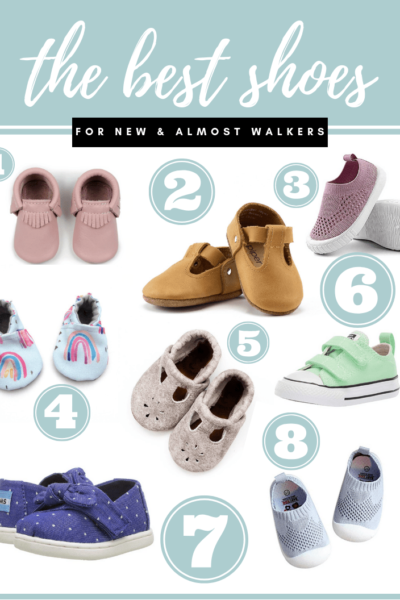 The Best Shoes for New & Almost Walkers
