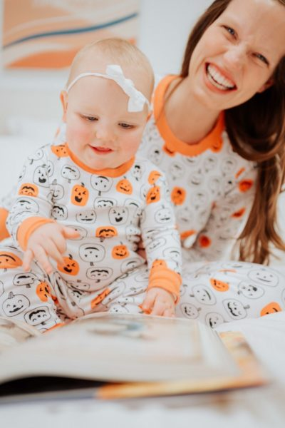 Boo to You: Matching Halloween Pajamas