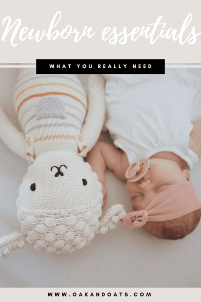 Newborn Essentials: What you really need for a Newborn